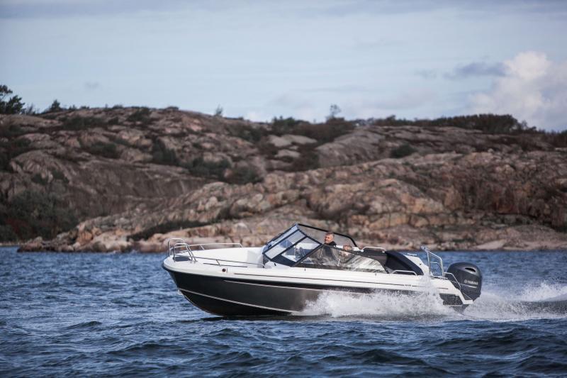 Yamarin Cross 62 BR presesenteras på Helsingfors båtmässa