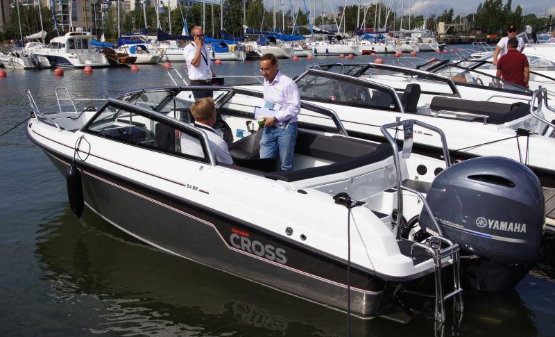 Yamarin Cross 64 BR presenteras på Allt på Sjön i Gustavsberg