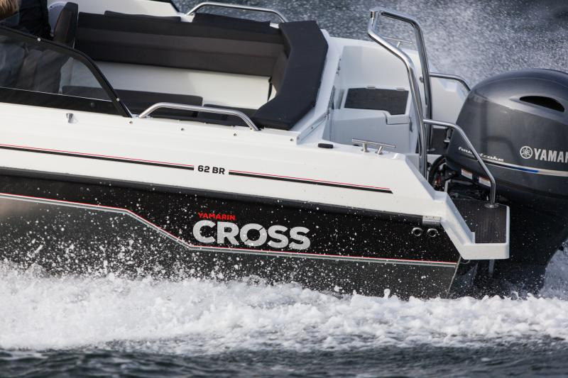 Yamarin Cross boats are shown at the Düsseldorf Boat Show 2020