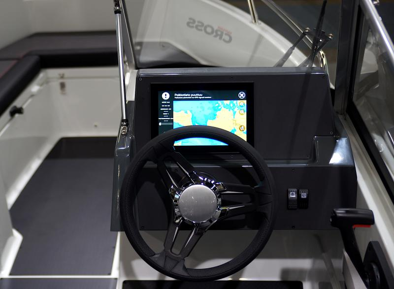 New Yamarin Cross boats with Cross Q system will be presented at the Meremess 2020
