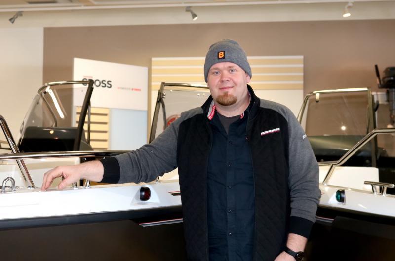 Sebastian Henriksson Porvoon Kuninkaanportin E3-Marinista