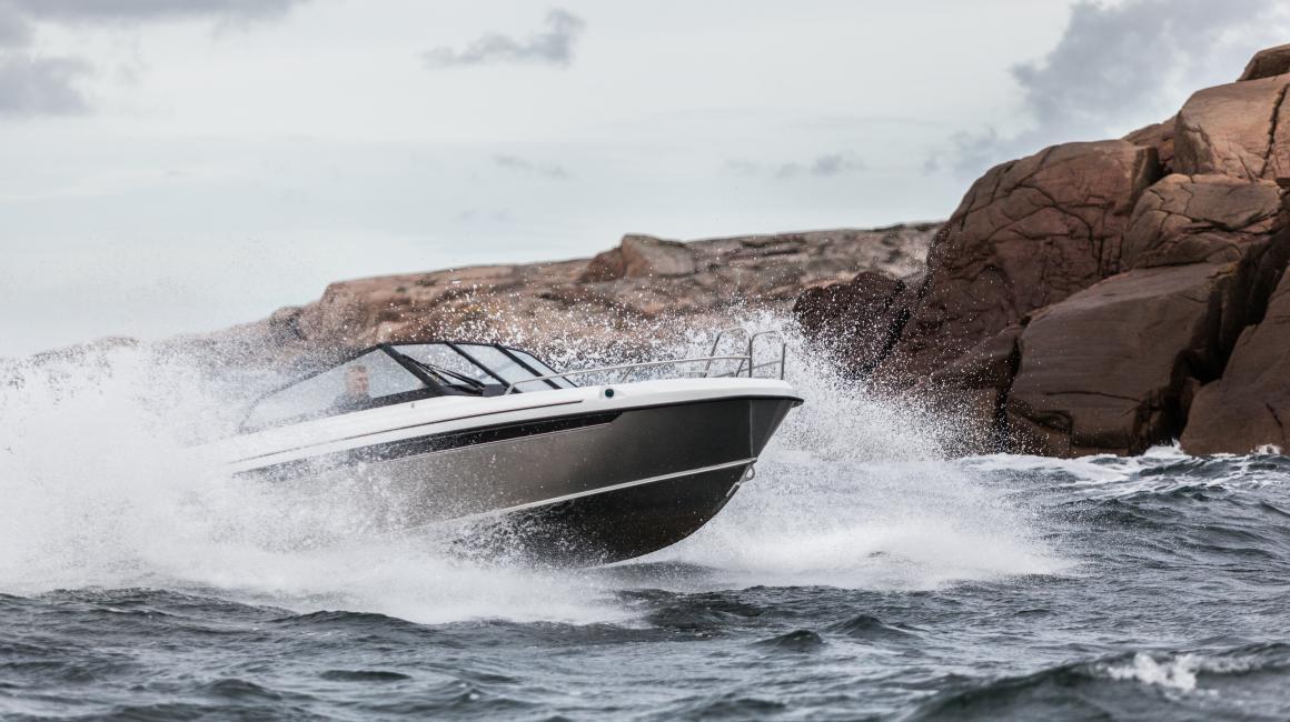 Aluminium boat Cross 62 BR