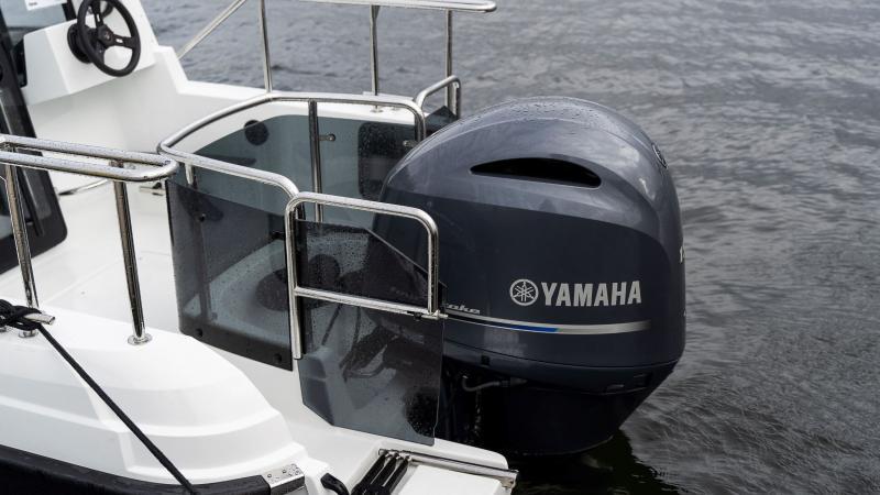 Cross 60 Cabin Yamaha F150 moottorin kanssa